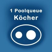 Köcher für 1 Pool-Queue
