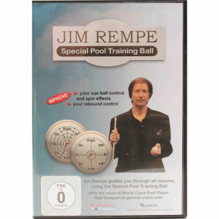 Jim Rempe - Pool Billard Lehr-DVD Deutsch v. Ralf Souquet