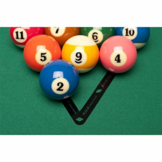 Magic Ball Rack Pro 8-Ball Aufbauschablone
