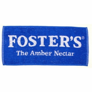 Queuepflege-Handtuch - Fosters - Bar Towel