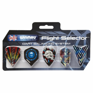Winmau Flight Selector 8150 Set mit 5 Flights