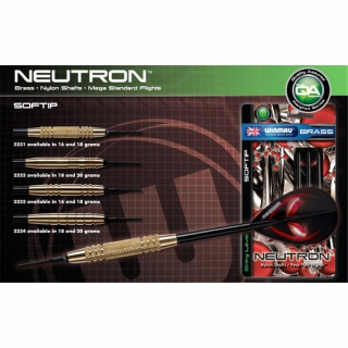 Winmau Neutron Brass Soft 18g (3er-Set, 2231.18)