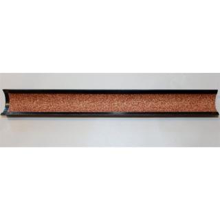 Tweeten Leder Schleiflade Metall 23cm