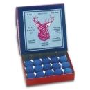 Elk-Master Pool-Klebleder 12,5mm Packung mit 50 Stück