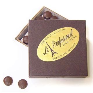 Le Professionel Snooker Klebleder 10,5 mm Packung mit 5 Stück