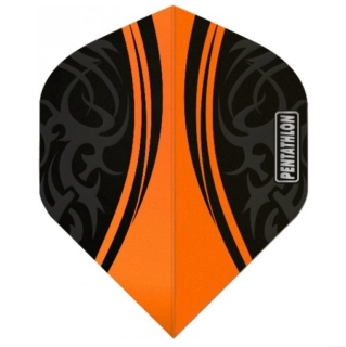 Pentathlon Tribal Orange Flights