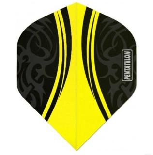 Pentathlon Tribal Yellow Flights