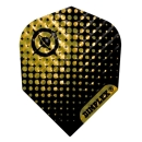 Harrows Dimplex Standard Flights Globe Black/Gold