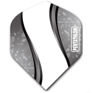 Pentathlon Vizion Spiro Standard Dart Flights Black
