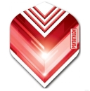 Pentathlon Vizion V Standard Dart Flights Red