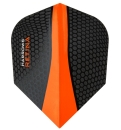Harrows Retina Standard Flights Schwarz-Orange