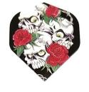 Designa Metronic Standard Flights Skulls with Roses 5 Sets