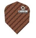 Harrows Carbon Dart Flights 3 Sätze - Braun